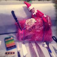 Les elfes du Père Noël se lâchent : coke et wrecking ball pour le réveillon !