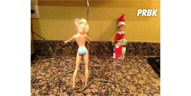 L'elfe dans un salon de strip-tease
