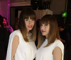 Brigitte à la soirée Jeff Koons pour H&M, le 9 décembre 2014 au Centre Pompidou