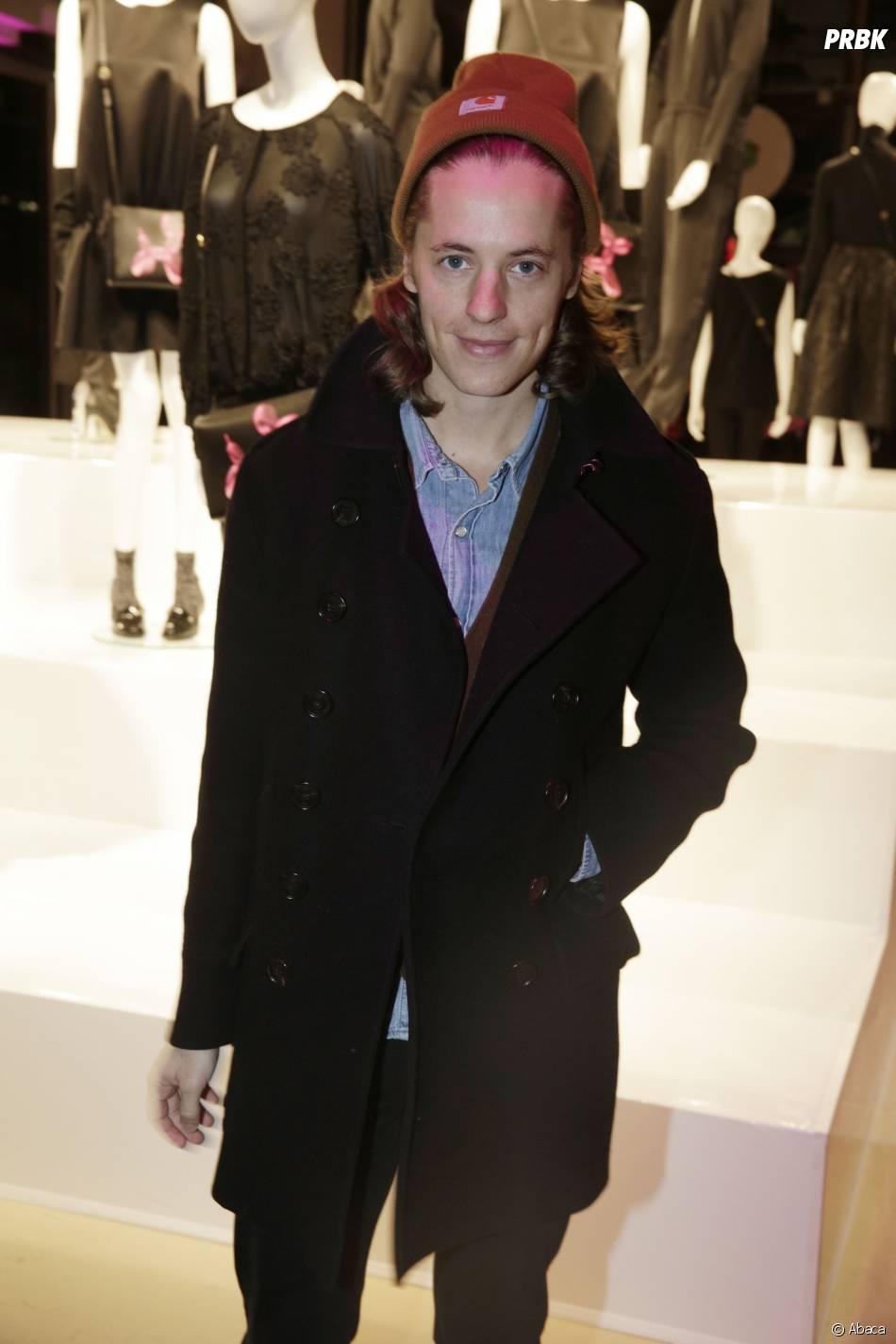 Pierre Sarkozy à la soirée Jeff Koons pour H&M, le 9 décembre 2014 au Centre Pompidou