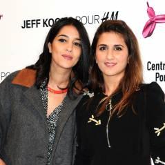 Leïla Bekhti et Géraldine Nakache complices à la soirée Jeff Koons pour H&M