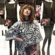 Daphné Bürki à la soirée Jeff Koons pour H&M, le 9 décembre 2014 au Centre Pompidou