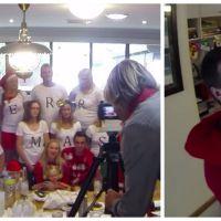 Adorable : il demande sa copine en mariage pendant une photo de famille pour Noël