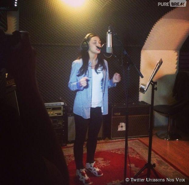 Unissons Nos Voix : Priscilla donne de la voix