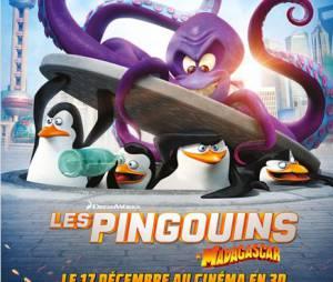 Les Pingouins de Madagascar, le 17 décembre 2014 au cinéma