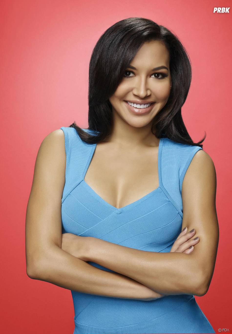 Glee saison 6 : Naya Rivera (Santana) sur une photo promo