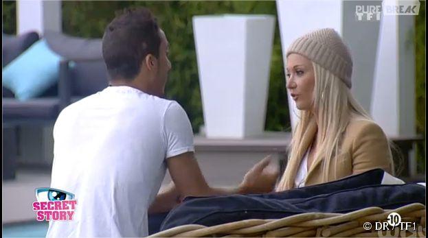 Vivian et Julie pendant Secret Story 8 sur TF1