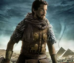 Exodus, Gods and Kings : affiche du film avec Christian Bale