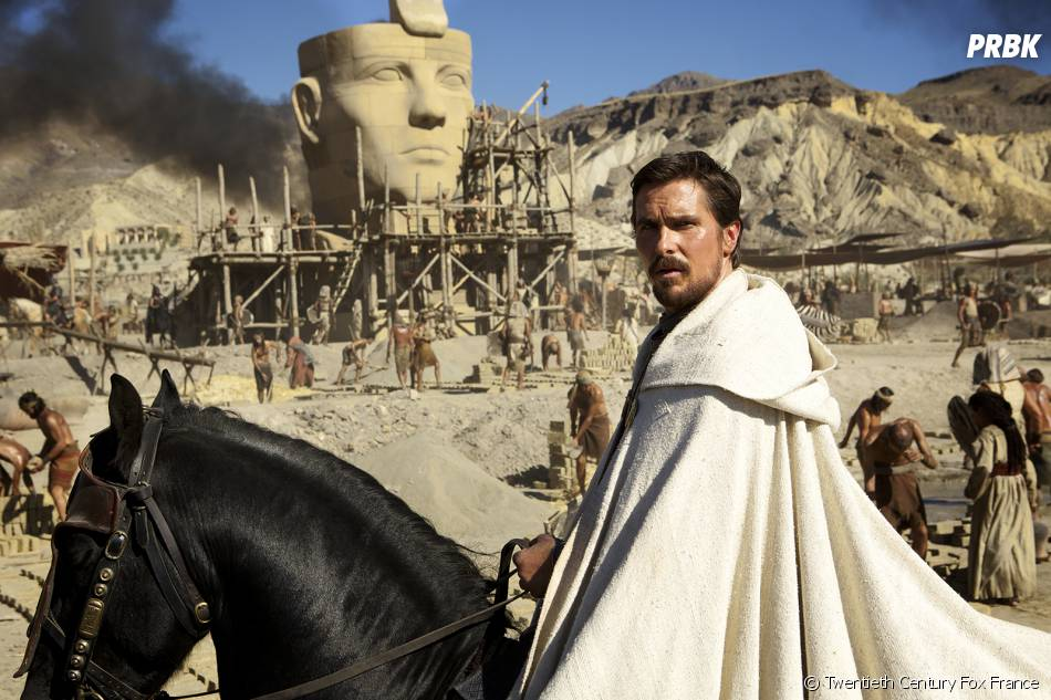 Exodus, Gods and Kings : Christian Bale est Moïse
