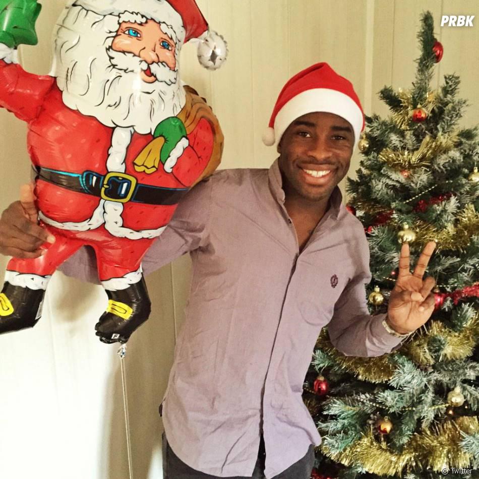 Rio MAvuba souhaite un Joyeux Noël à ses fans sur Twitter, le 25 décembre 2014