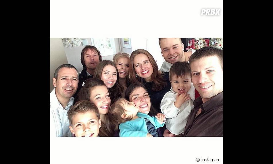 MA2X avec sa famille sur Instagram, le 25 décembre 2014