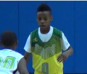 LeBron James : son fils de 10 ans assure sur un terrain de basket