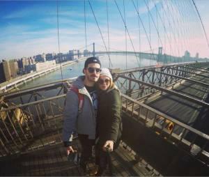 Joy Esther et son petit ami Andrea Condorelli : vacances en amoureux à New-York pour Nouvel An 2015