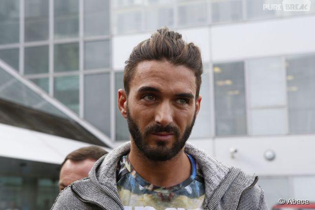Thomas Vergara à sa sortie de l'hôpital européen Georges Pompidou à Paris, le 12 novembre 2014
