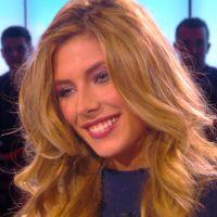 """Camille Cerf : """"petits seins"""" et lingerie intime, la Miss France 2015 se lâche sur D8"""