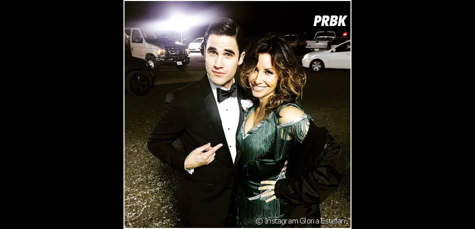 Glee saison 6 : Darren Criss et Gina Gershon sur le tournage