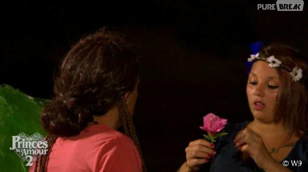 Les Princes de l'amour 2 : Morgane jalouse de Cherazade dans l'épisode 42 diffusé le 6 janvier 2015, sur W9