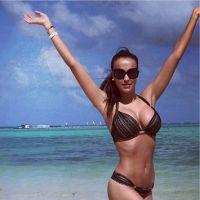 Julie Ricci : vacances sexy au soleil pour la bombe
