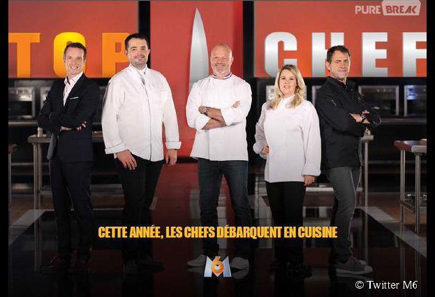 Top Chef saison 6 : diffusion à partir du 26 janvier 2015 sur M6