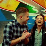MA2X et Capucine Anav : couple mignon et gros câlin dans le clip Happy Today