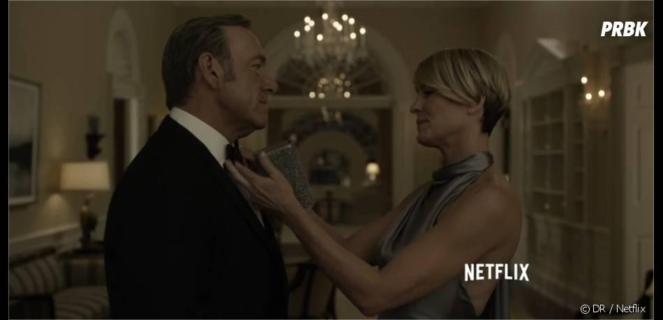 House of Cards saison 3 : Kevin Spacey et Robin Wright dans la bande-annonce