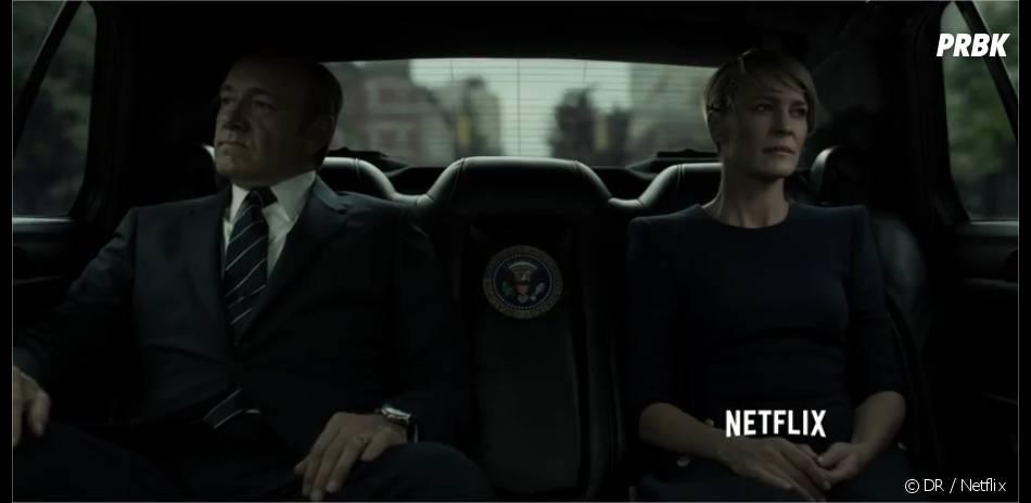 House of Cards saison 3 : tensions pour Claire et Frank