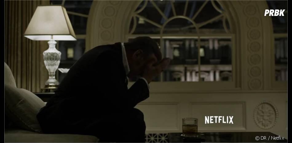 House of Cards saison 3 : Frank dévasté