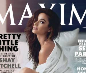 Shay Mitchell sexy en Une du magazine Maxim