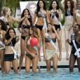 Miss Univers 2015 : les candidates en maillot de bain avant le concours