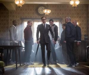 Kingsman Services Secrets : Colin Firth sur une photo du film