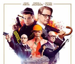 Kingsman Services Secrets : l'affiche du film