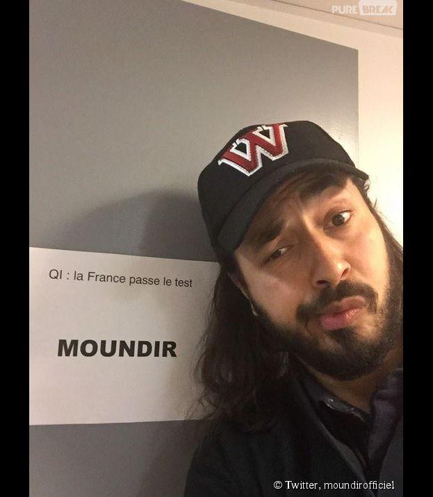 Moundir (Koh Lanta 2014) invité dans QI la France passe le test