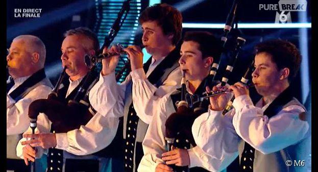La France a un incroyable talent : prestation bluffante pour les musiciens de Bagad de Vannes