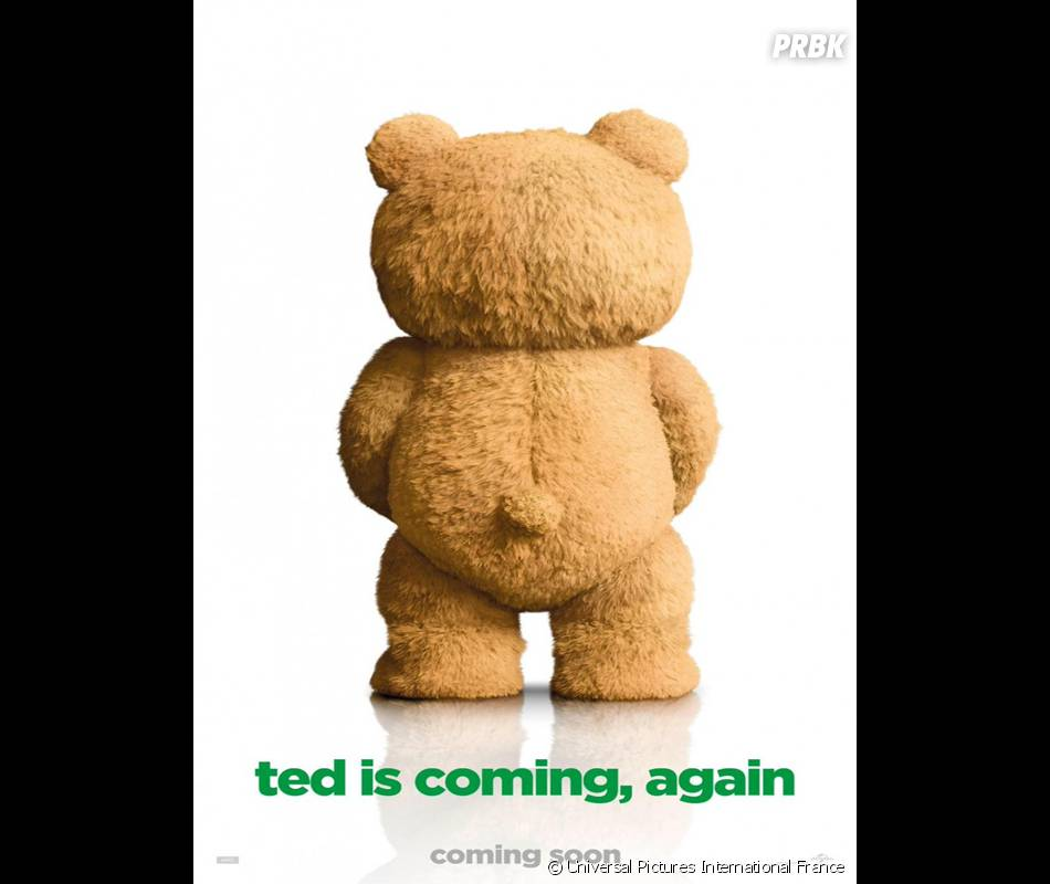 Ted 2 : poster du film avec Mark Wahlberg