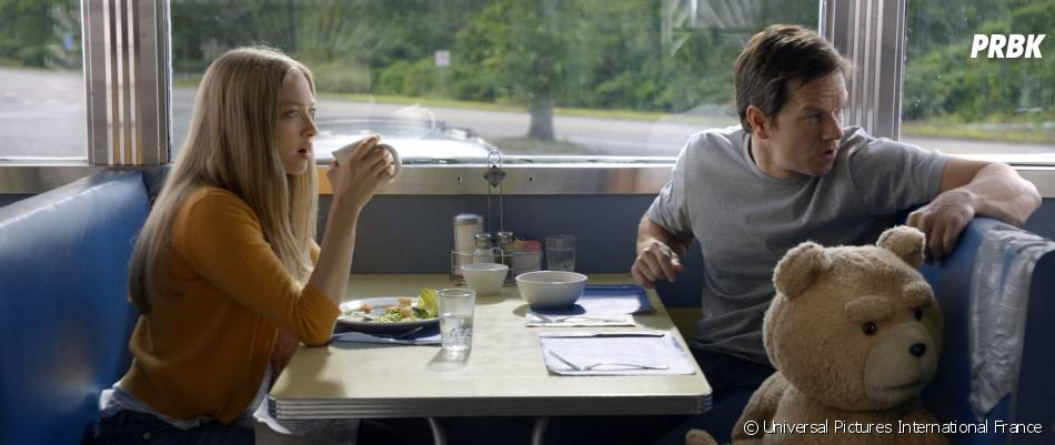 Ted 2 : Mark Wahlberg et Amanda Seyfried sur une photo