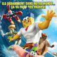 Bob l'éponge : un héros sort de l'eau : les Youtubers Cyprien, Squeezie et Natoo sont les voix françaises du film au cinéma le 18 février 2015