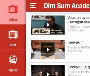 Dim Sum Academy : l'appli 100% humour de Fred Testot
