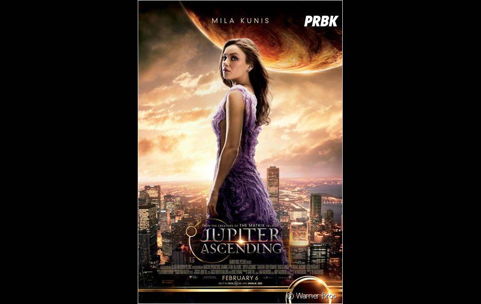 Jupiter Ascending : Mila Kunis sur une affiche
