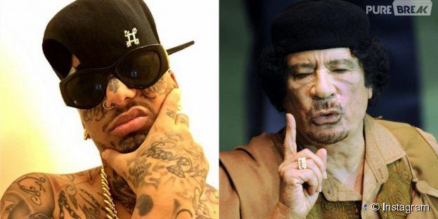 Swagg Man, le fils caché du Colonel Mouammar Kadhafi ? La rumeur folle
