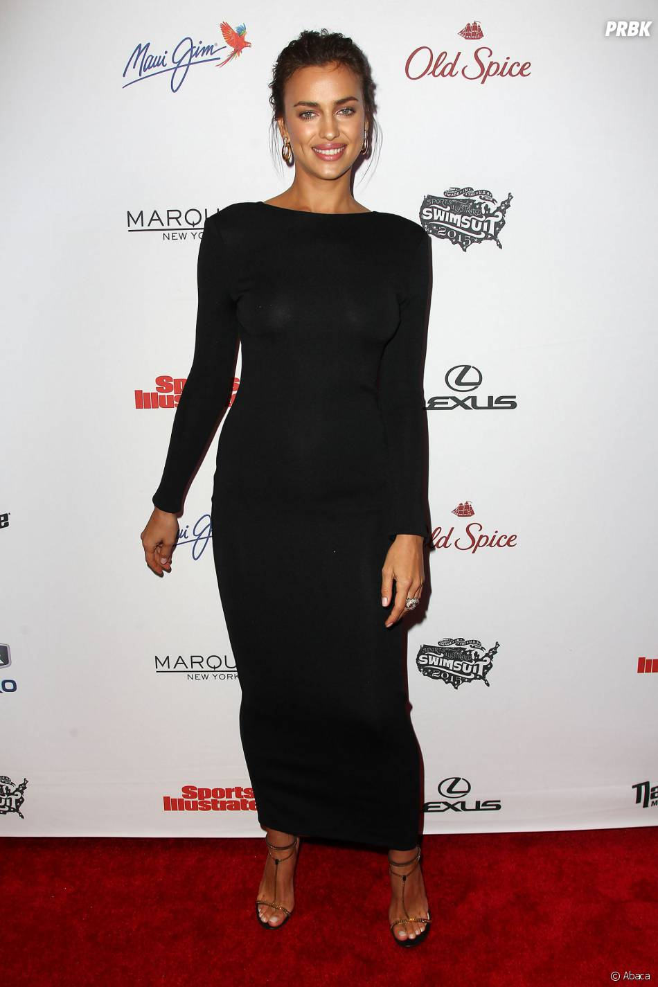"""Irina Shayk à la soirée Sports Illustrated dédiée au numéro """"spécial bikini"""" 2015, le 10 février 2015"""