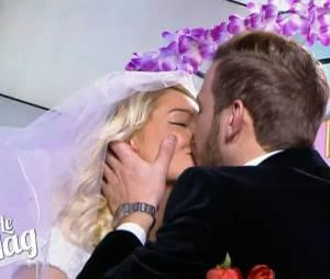 Aurélie Dotremont et Julien Bert : mariage dans Le Mag de NRJ 12, le 13 février 2015