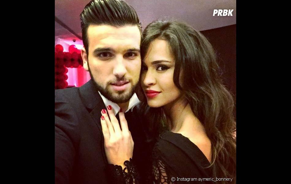 Leila Ben Khalifa et Aymeric Bonnery : rendez-vous romantique pour la Saint-Valentin