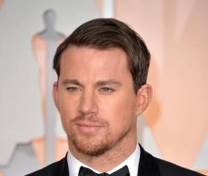 Channing Tatum sur le tapis rouge des Oscars, le 22 février 2015 à Los Angeles