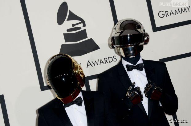 Daft Punk : Thomas Bangalter et Guy-Manuel de Homem Christo tombent les masques... pour une sculpture