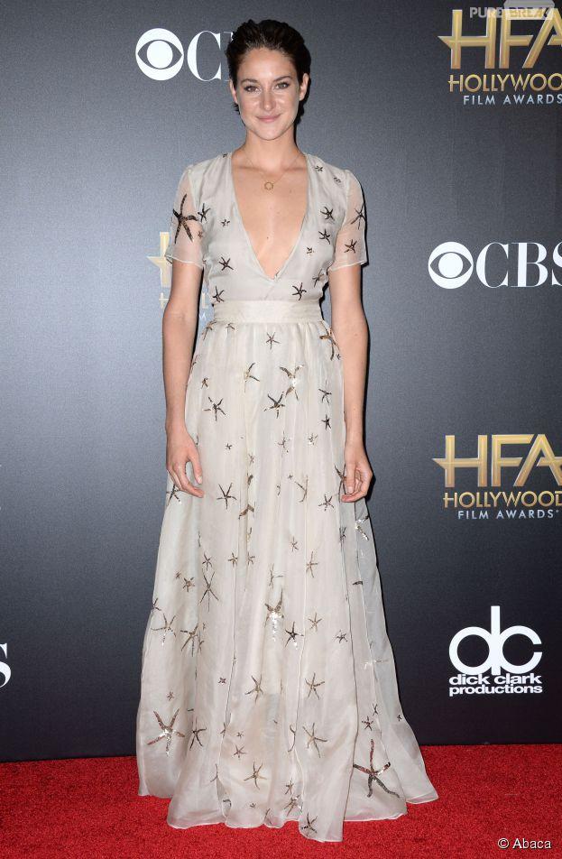 Shailene Woodley pose topless pour Glamour et parle de la nudité