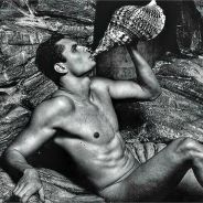 Florent Manaudou nu : le champion de natation se déshabille devant l'objectif de Karl Lagerfeld