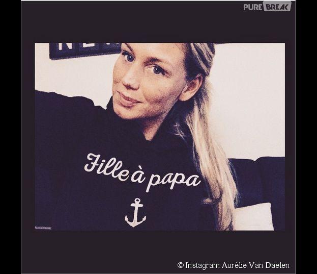Aurélie Van Daelen : nouvel hommage à son papa sur Instagram