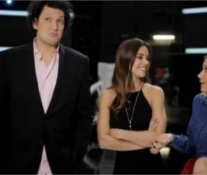 Marine Lorphelin et Christophe Dechavanne animent l'émission Les Extra-ordinaires sur TF1