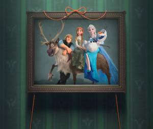 La Reine des neiges - une fête givrée : portrait de famille