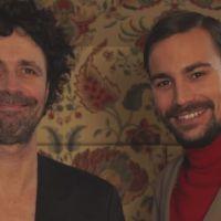 """Bertrand Chameroy et le """"poil brillant"""" de Christophe Carrière : leur fausse pub qui a du chien"""